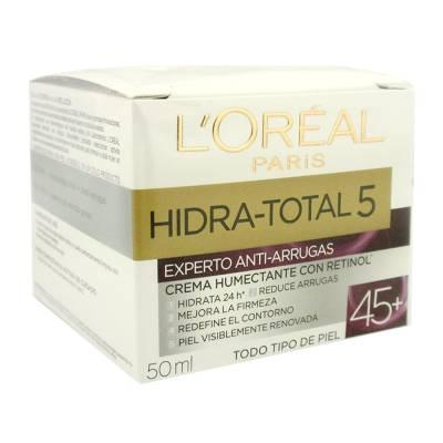 crema-facial-loreal-paris-hidra-total-5-experto-anti-arrugas-45-mas-con-retinol-50-ml