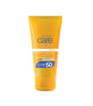 a7210fb6f4e Avon Care Sun+ Protector Solar Facial En Crema Hidratante FPS 50 ...