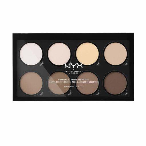 Paleta De Contouring Hignligth & Contour Pro Palette Nyx Cosmetics