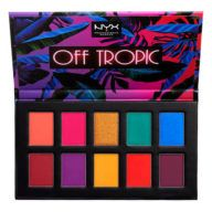 Paleta De Sombras Off Tropic Shadow Nyx Cosmetics